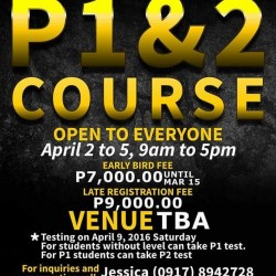IKMF P1 and P2 Course