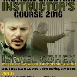 Tactical Shooting Instructor Course 2016